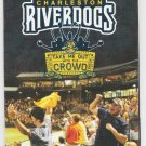 2017 SAL Charleston River Dogs Pocket Schedule South Atlantic League Class A