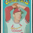 St Louis Cardinals Dennis Higgins 1972 Topps Baseball Card 278 vg/ex