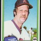 California Angels John Montague 1981 Topps Baseball Card 652 nr mt