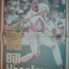 1995 Boston Red Sox Bill Haselman Boston Globe Fenway Favorites Poster