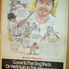 Boston Red Sox Luis Rivera 1991 Boston Herald Poster