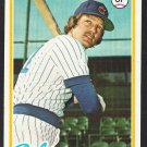 Chicago Cubs Greg Gross 1978 Topps Baseball Card 397 ex/em