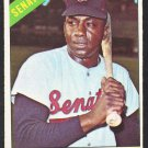 Washington Senators Willie Kirkland 1966 Topps Baseball Card 434 ex