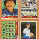 1979 Topps Chicago Cubs Team Lot 16 Rick Reuschel Willie Hernandez Manny Trillo