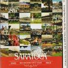 Saratoga Race Course 2013 Program w/ Monmouth Park