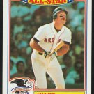 Boston Red Sox Wade Boggs 1988 Topps Glossy All Star Baseball Card 4
