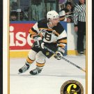 Boston Bruins Ray Bourque 1991 O Pee Chee Premiere OPC Original 6 192 nr mt