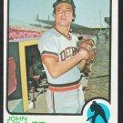 Detroit Tigers John Hiller 1973 Topps Baseball Card 448
