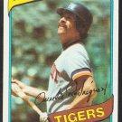 Detroit Tigers Aurelio Rodriguez 1980 Topps Baseball Card 468 ex/em