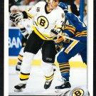 Boston Bruins Vladimir Ruzicka 1992 Upper Deck Hockey Card 258