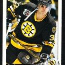 Boston Bruins Don Sweeney 1992 Upper Deck Hockey Card 391