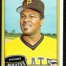Pittsburgh Pirates Grant Jackson 1981 Topps Baseball Card 518 em/nm