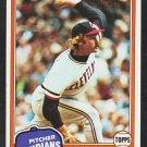 Cleveland Indians Rick Waits 1981 Topps Baseball Card 697 nr mt