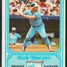 Atlanta Braves Bob Horner 1981 Drakes Big Hitters Baseball Card 17 nr mt