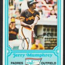 San Diego Padres Jerry Mumphrey 1981 Drakes Big Hitters Baseball Card 26