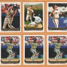 1993 Topps Gold Insert Houston Astros Team Lot Craig Biggio Ken Caminiti Eric Anthony
