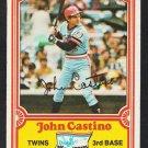 Minnesota Twins John Castino 1981 Drakes Big Hitters Baseball Card 29 vg+