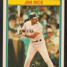 Boston Red Sox Jim Rice 1987 Kay Bee Super Stars of Baseball Card 26