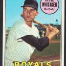 Kansas City Royals Steve Whitaker 1969 Topps Baseball Card 71 ex