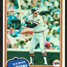 Cleveland Indians Toby Harrah 1981 Topps Baseball Card 721 nr mt