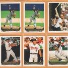1993 Topps Gold Insert Baltimore Orioles Team Lot 14 Brady Anderson Rick Sutcliffe Joe Orsulak