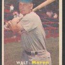 Chicago Cubs Walt Moryn 1957 Topps Baseball Card 16 g/vg