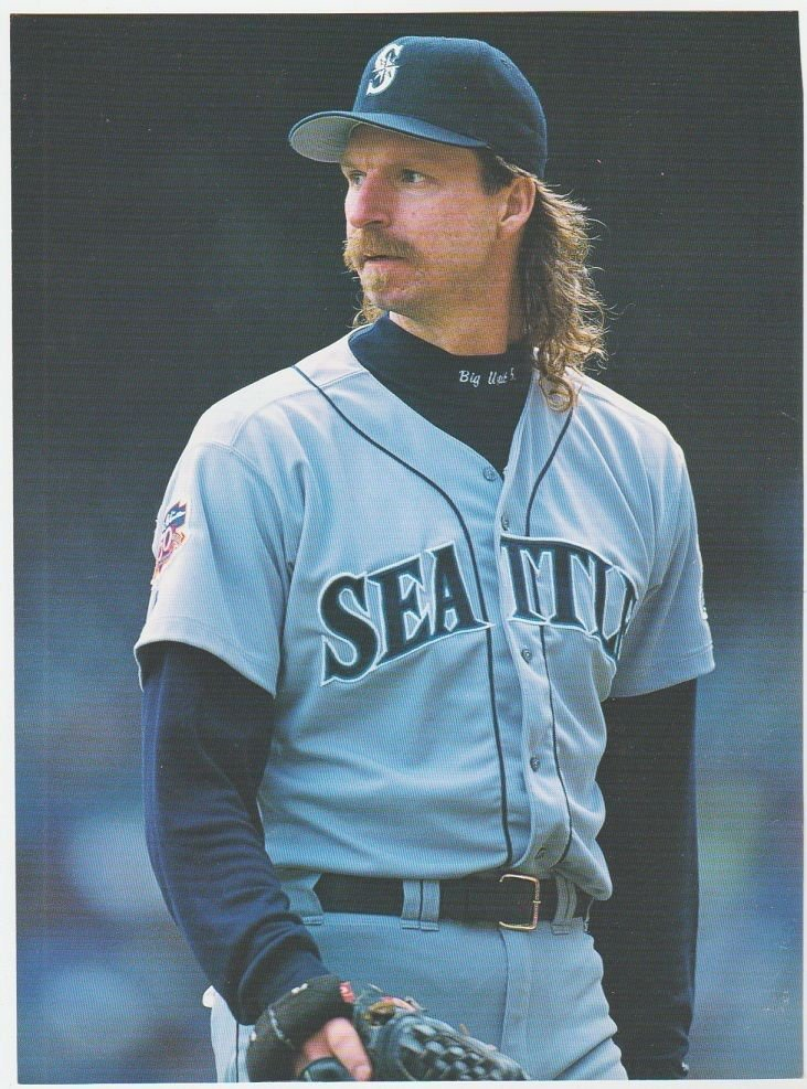 Seattle Mariners Randy Johnson 2 1997 Pinup Photos 8x10