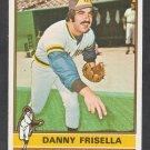 San Diego Padres Danny Frisella 1976 Topps Baseball Card 32 ex
