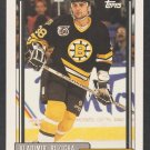 Boston Bruins Vladimir Ruzicka 1992 Topps Hockey Card 333