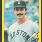 Boston Red Sox Dwight Evans 1986 Topps Super Star Baseball Card 10