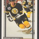 Boston Bruins Steve Heinze RC Rookie Card 1992 Topps Hockey Card 519
