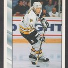 Boston Bruins Gord Murphy 1992 Score Hockey Card 29
