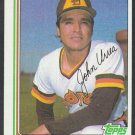 San Diego Padres John Urrea 1982 Topps Baseball Card 28 nr mt
