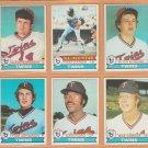 1979 Topps Minnesota Twins Team Lot 20 Rod Carew Butch Wynegar Dan Ford Glenn Borgmann