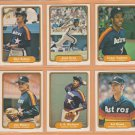 1982 Fleer Houston Astros Team Lot 26 Cesar Cedeno Jose Cruz Don Sutton JR Richard Art Howe