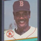 Boston Red Sox Jim Rice 1986 Leaf Donruss Baseball Card 146