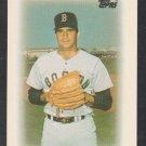 Boston Red Sox Bruce Hurst 1986 Topps Mini League Leader Baseball Card 6 nr mt
