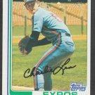 Montreal Expos Charlie Lea 1982 Topps Baseball Card 38 nr mt