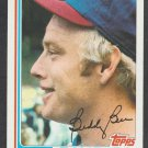 Texas Rangers Buddy Bell 1982 Topps Baseball Card 50 nr mt