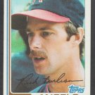 California Angels Rick Burleson 1982 Topps Baseball Card 55 nr mt