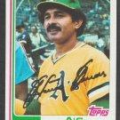 Oakland Athletics Tony Armas 1982 Topps Baseball Card 60 nr mt