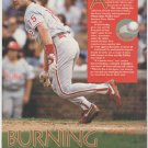 Philadelphia Phillies Dave Hollins 1993 Pinup Photo 8x10