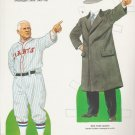 New York Giants John McGraw 1985 Thomas Tierney Paper Doll Uncut Full Page