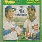 1977 Baseball Digest Chicago Cubs St Louis Cardinals Lou Brock California Angels Nolan Ryan Rangers