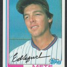 New York Mets Ed Lynch 1982 Topps Baseball Card 121 nr mt
