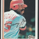 Minnesota Twins Danny Goodwin 1982 Topps Baseball Card 123 nr mt