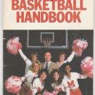 1982 Al McGuire NCAA Basketball Handbook March Madness Miller Beer