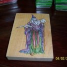 Large Wizard Rubber stamp NEW
