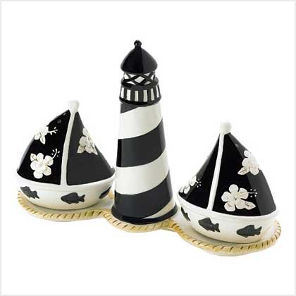 Seaside Salt and Pepper Set