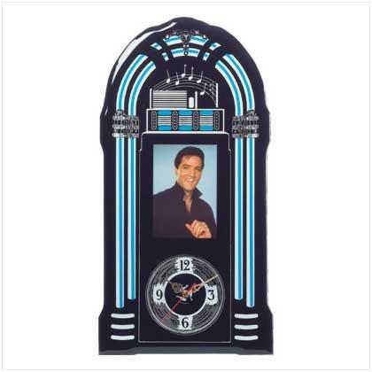 Elvis Junebox Wall Clock